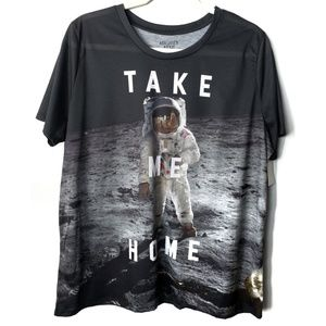 Mighty Fine 'Take Me Home' Gray T-Shirt, 2X NWT